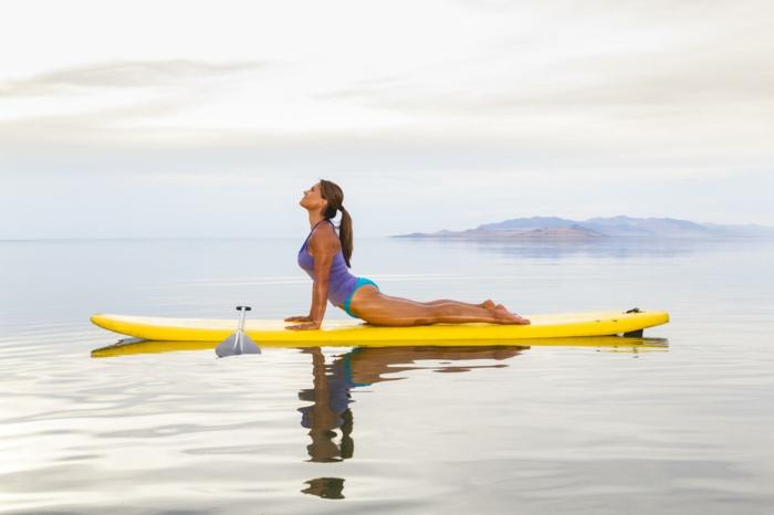 paddle yoga quel sport pratiquer en été