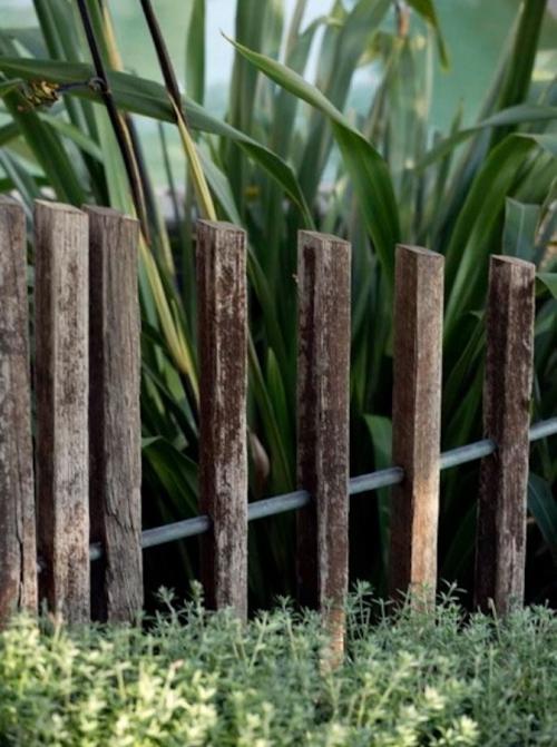 palissade jardin construction ajourée