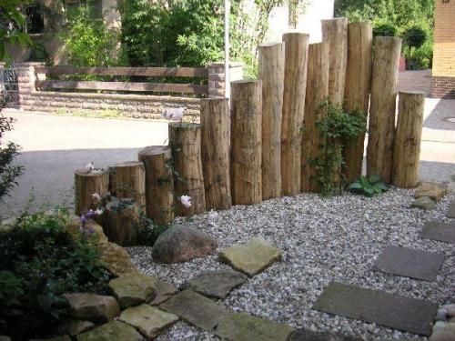 palissade jardin objectif décoratif