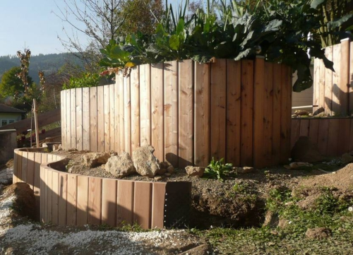 palissade jardin protection et brise-vue