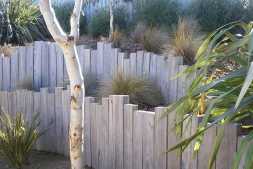 palissade jardin taille moyenne