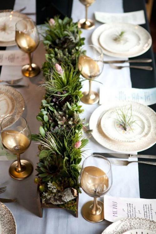 plan de table mariage coffrets en bois sur la table