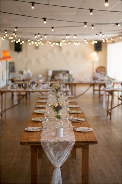 plan de table mariage salle éclairée
