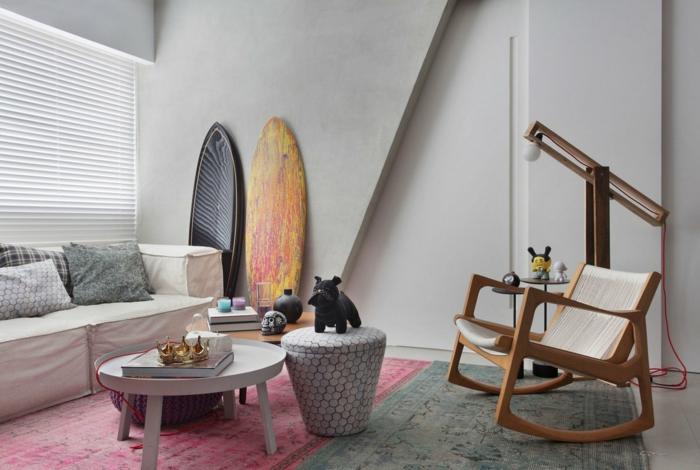 pour votre salon idée déco planche de surf