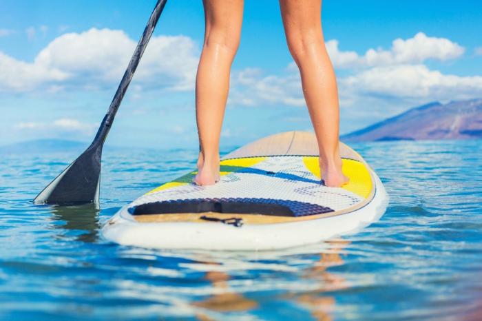 quel sport pratiquer en été stand up paddle