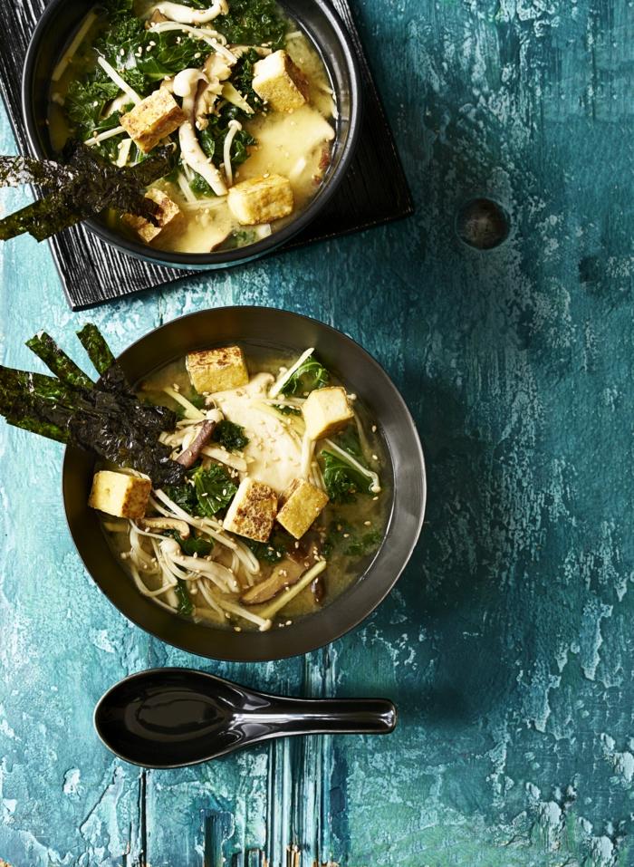 recette facile de soupe miso idées