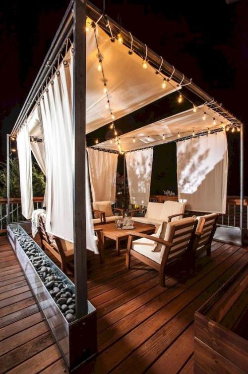 revêtement sol balcon bel ensemble en bois