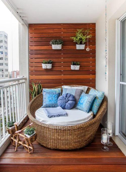 revêtement sol balcon garde-fou en fer