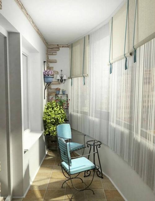 revêtement sol balcon longue terrasse courbée