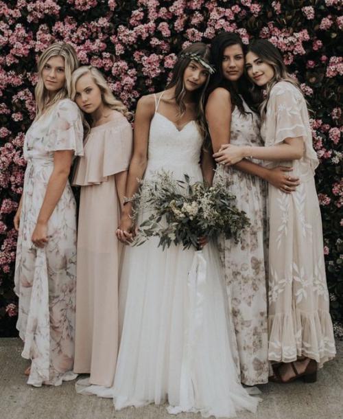 robe invitée mariage automnal mariée en robe blanche