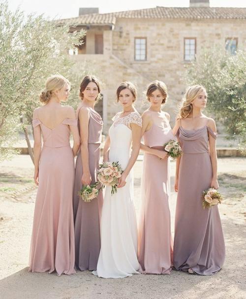 robe invitée mariage automnal robes élégantes