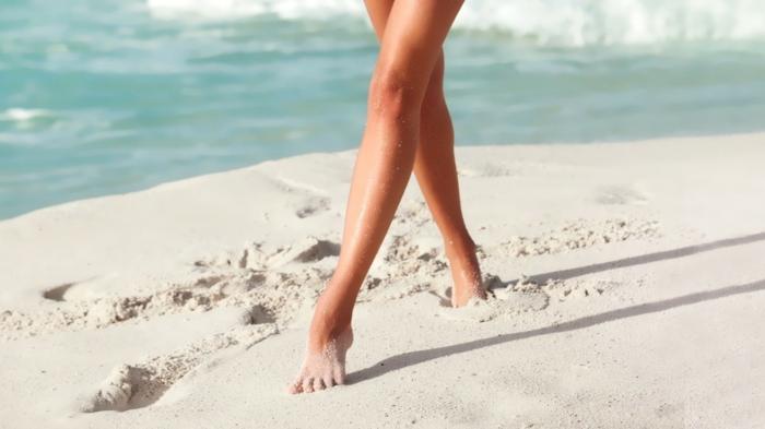 running sur le sable dos nus quel sport pratiquer en été