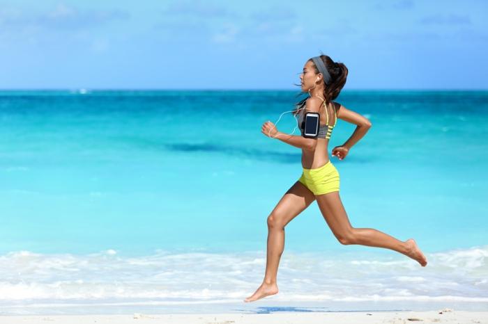 running sur le sable quel sport pratiquer pendant l'été