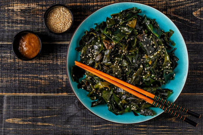 salade japonaise avec wakamé