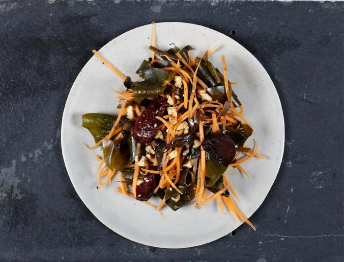 salade légère avec wakamé