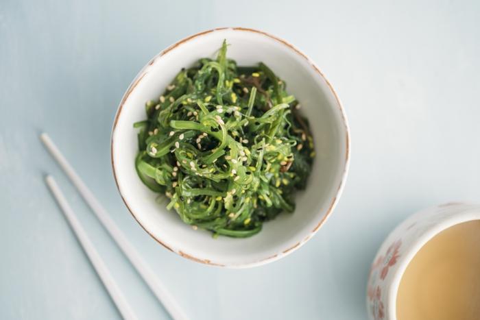 salade wakamé recette