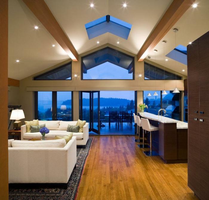 plafond poutre apparente cool luxueux couloir porte en bois placard de rangement blanc poutre. Black Bedroom Furniture Sets. Home Design Ideas