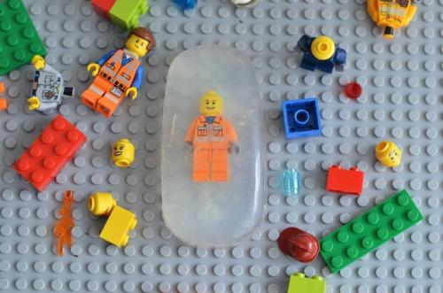 savon glycériné fait maison lego