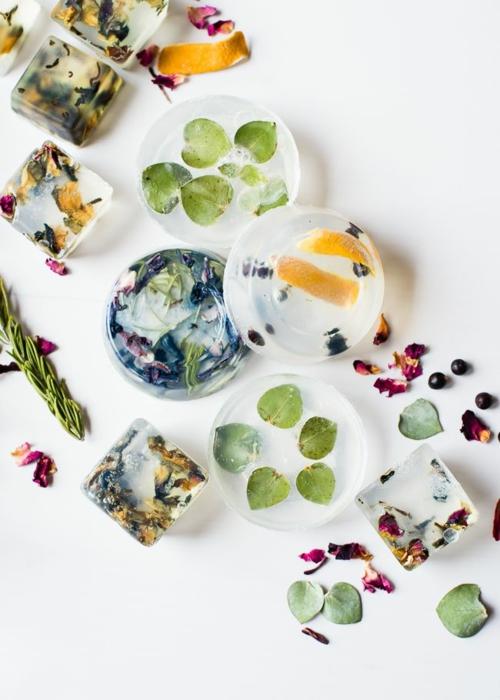 savon glycériné maison feuilles sèches