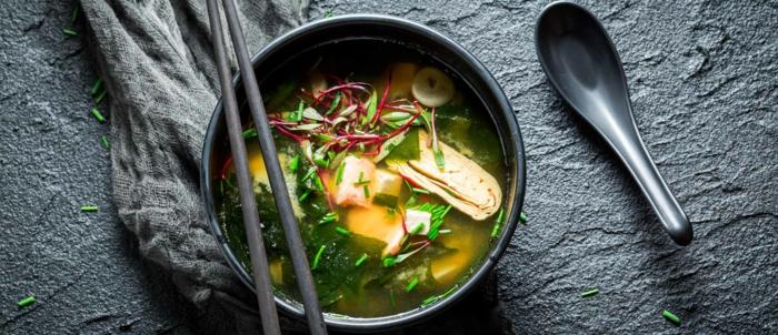 soupe japonaise soupe miso