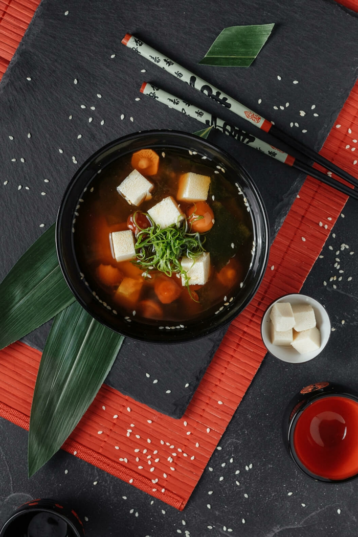 soupe miso délicieuse