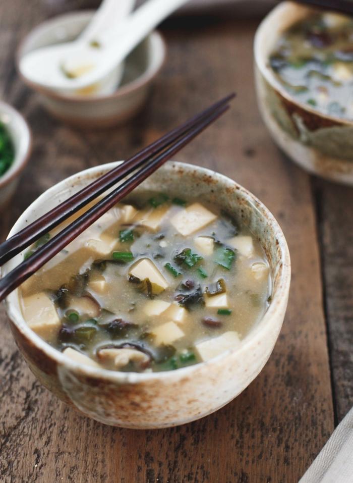 soupe miso japonaise idée