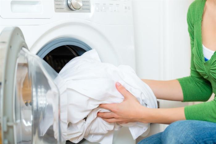 symboles lavage vêtements lavage draps blancs
