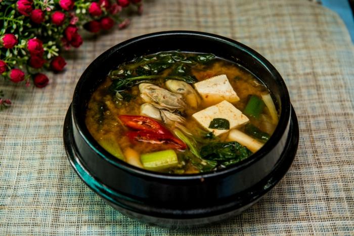 variante de la soupe miso