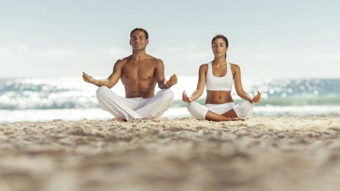 yoga à la plage quel sport pratiquer