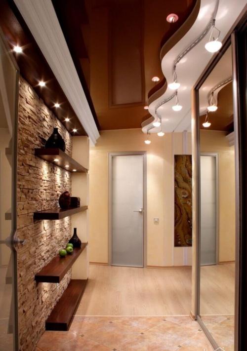 éclairage couloir déviations du couloir