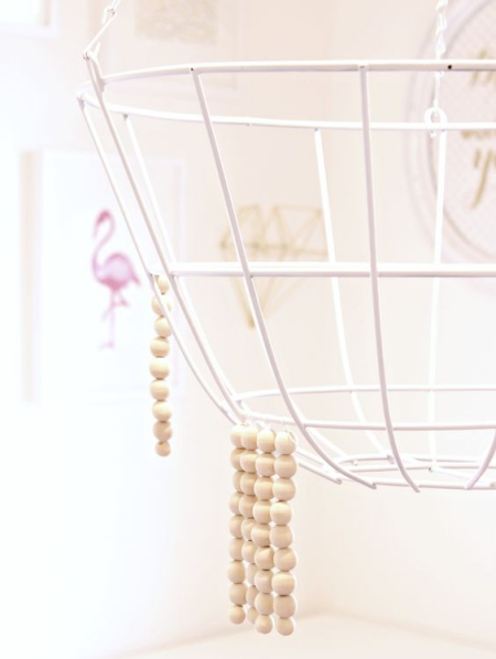 DIY chandelier corps en métal