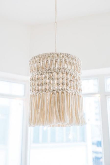 DIY chandelier jolie décoration