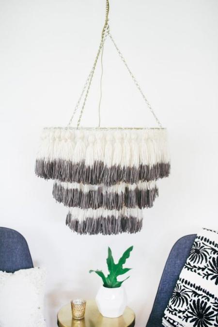 DIY chandelier style vintage
