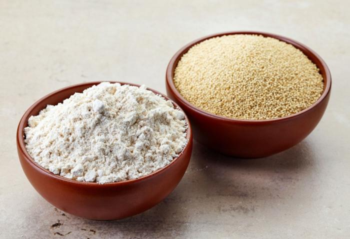 amarante graines et farine par quoi remplacer la farine de blé
