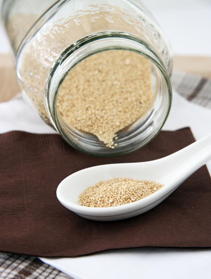amarante graines par quoi remplacer la farine de blé