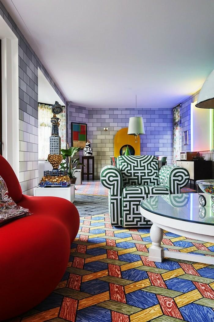appartement décoration tendance style maximaliste