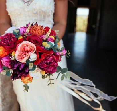 bouquet de mariée artificiel