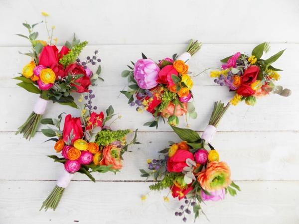 bouquet de mariée artificiel idée diy