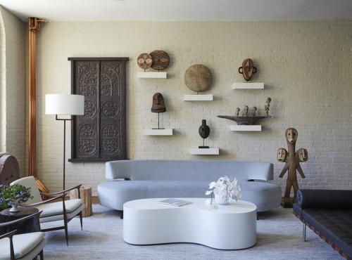 canapé arrondi design moderne