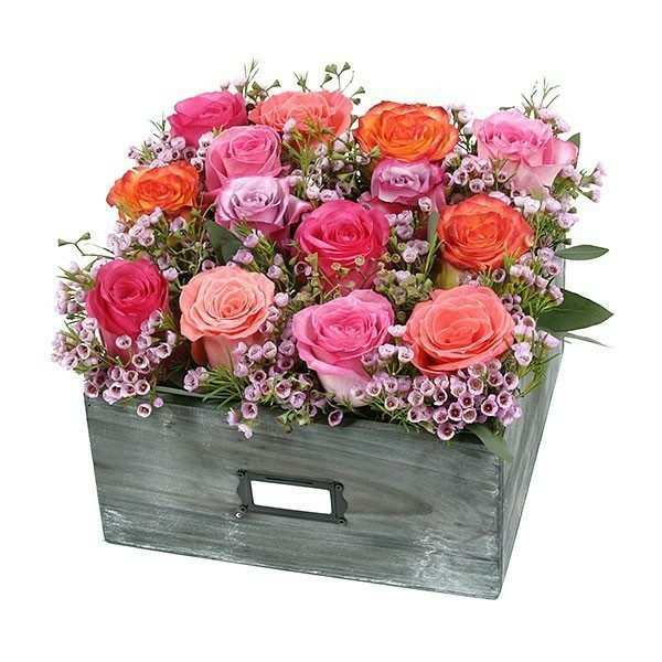 comment conserver une rose arrangement floral