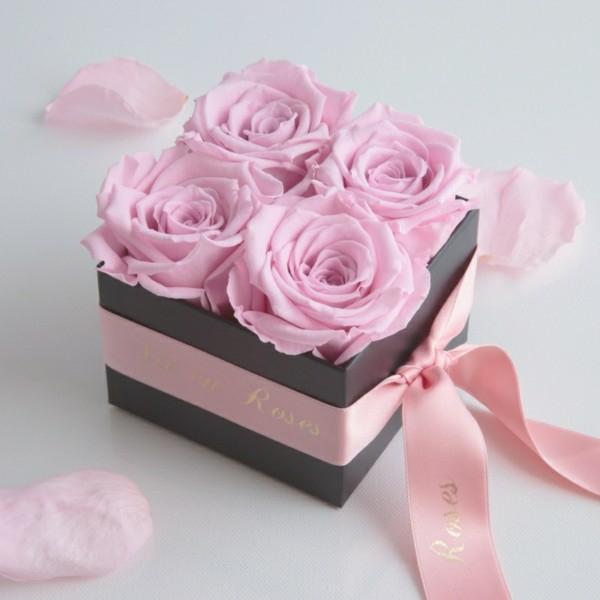 comment conserver une rose fleurs en boîte