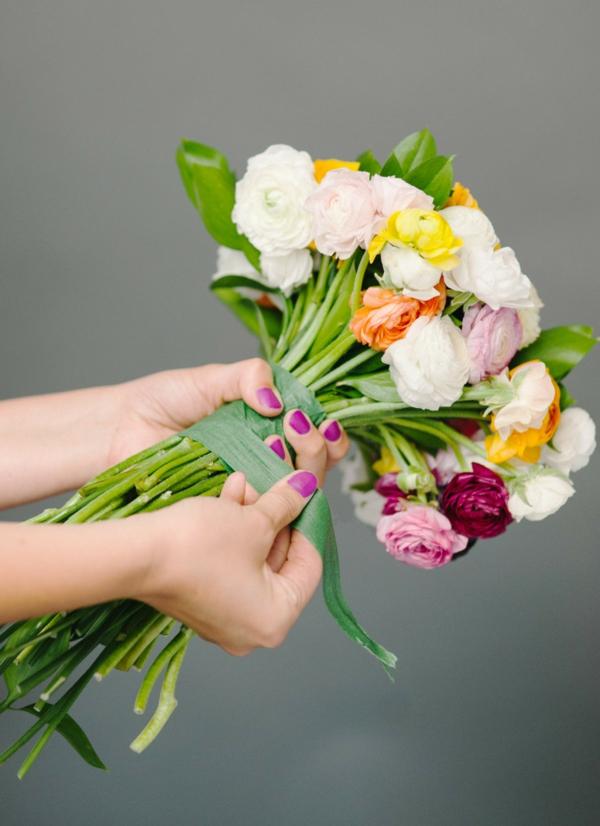 comment faire un bouquet de mariée artificiel