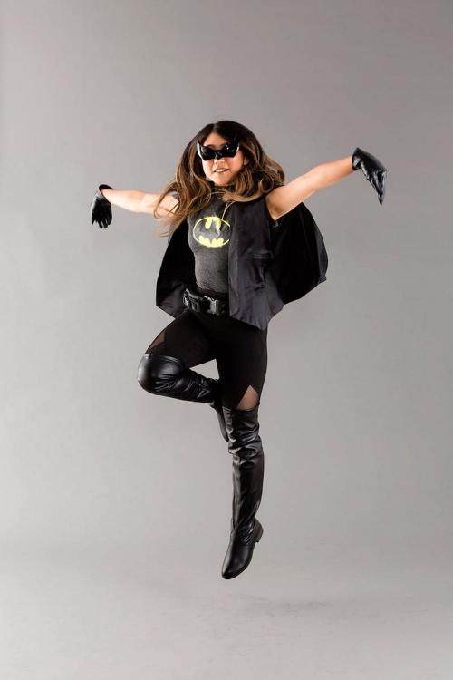 costume super héros pour Halloween femme Batman
