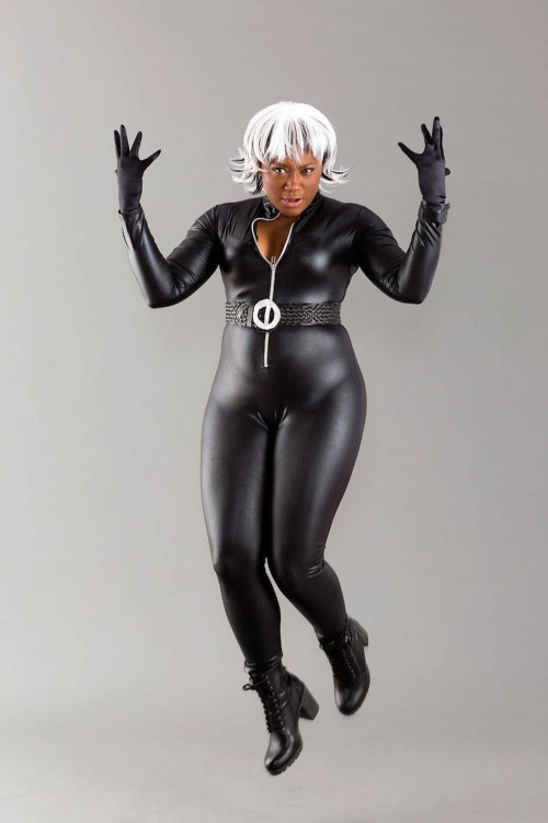 costume super héros pour Halloween le costume de la tempête