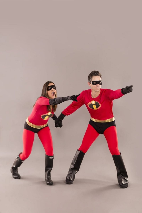 costume super héros pour Halloween les Incredibles