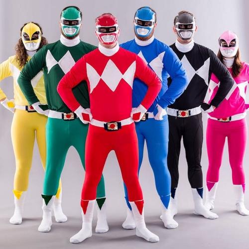 costume super héros pour Halloween pour un groupe de six