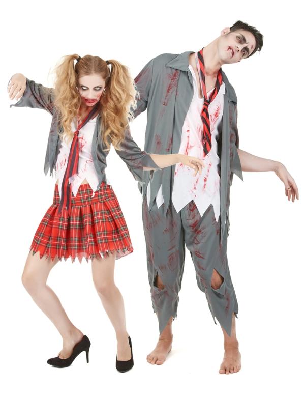 costume zombi idée de déguisement couple halloween