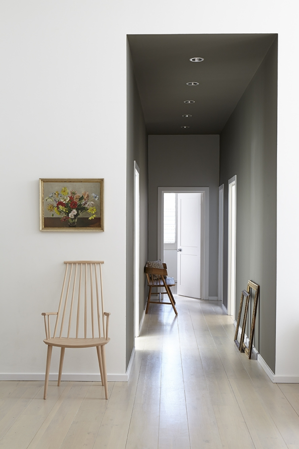 couleur couloir espace en train de décoration