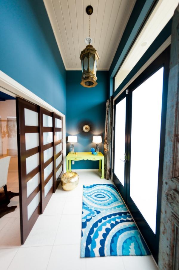 couleur couloir styles mixtes