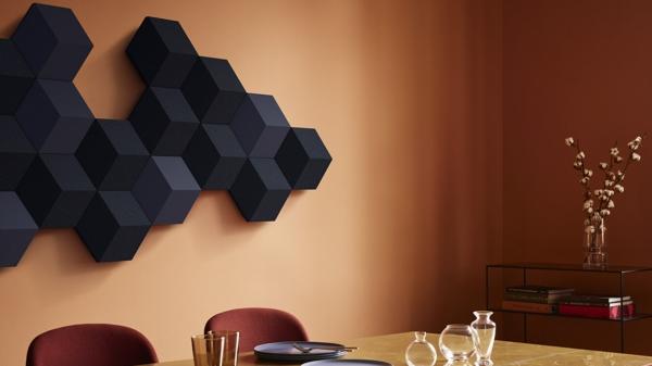 couleur de peinture tendance 2019 dulux brun miel épicé salle à manger